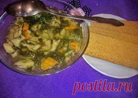 (4) Грибной суп с картофелем - пошаговый рецепт с фото. Автор рецепта Эльза . - Cookpad