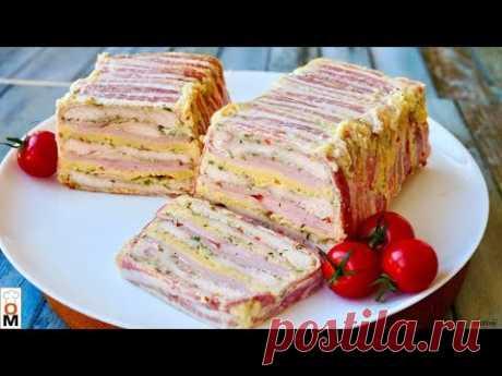 Интересная Закуска на НОВЫЙ ГОД! | Мясной Хлеб