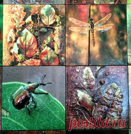 плитка  ручной работы, плитка авторская, плитка керамическая Растения, керамическая плитка растения, плитка керамическая с изображением насекомых, рисунки насекомых на плитке, плитка ручной работы купить