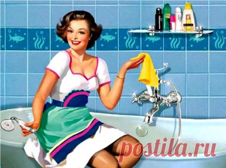 ОЧЕНЬ ПРОСТЫЕ, НО В ТО ЖЕ ВРЕМЯ ГЕНИАЛЬНЫЕ СОВЕТЫ ДЛЯ ИДЕАЛЬНОЙ ЧИСТОТЫ В ДОМЕ!   1. Очищаем самые грязные предметы в ванной. Старая шторка для ванной будет выглядеть, как из магазина, если все грязные участки и даже места с желтизной и плесенью промыть раствором, состоящим в равных частях из перекиси водорода и воды. Чтобы очистить зубные щетки от микробов, замачиваем их на час в уксусе. Затем хорошо моем под проточной водой. Мочалки замачиваем на час в горячей воде и укс...