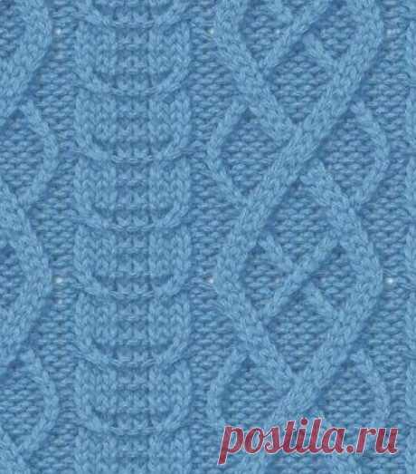 Красивые араны для вязания спицами. Схема вязания в вашу копилочку | Вязание с Аленой Липницкой | Яндекс Дзен