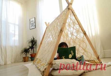 Палатка для ребенка. #DIY_Идеи