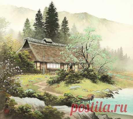 Японский художник Кодзима Коукей - MiX-PiX