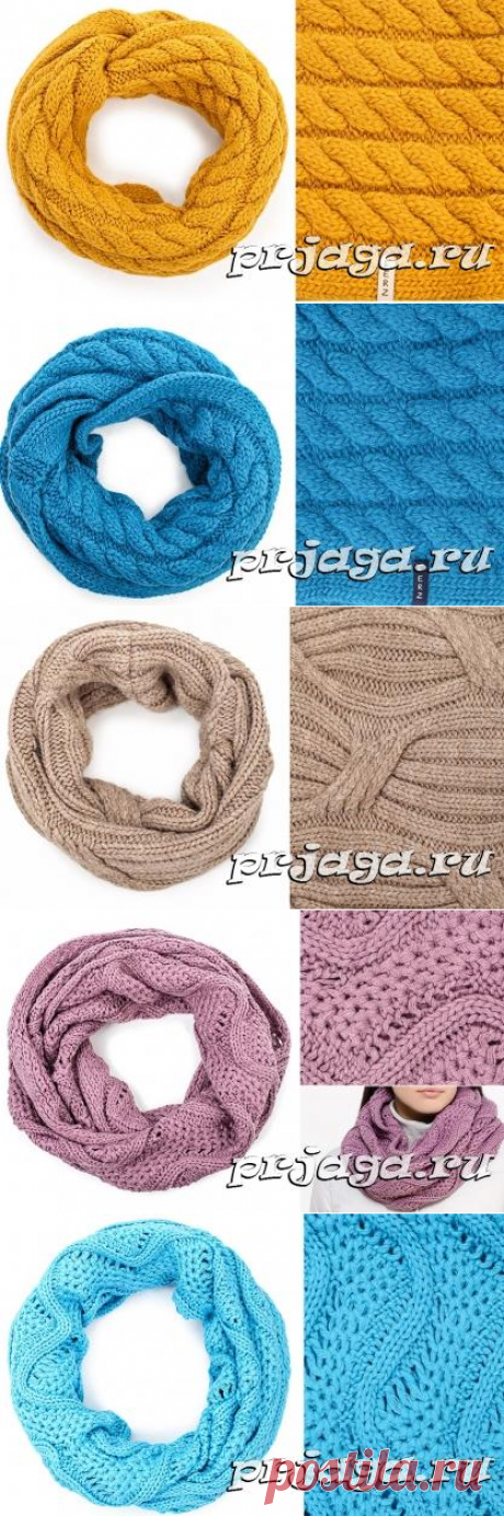 Knitting of snud, selection of patterns