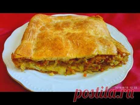 Капустный пирог – пошаговый рецепт с фотографиями