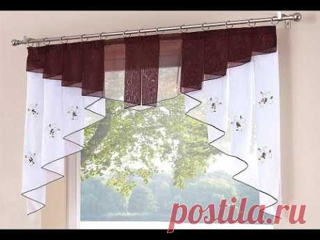 53 примера почему Короткие шторы идеальны для кухни