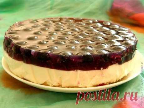 виноградный торт