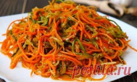 Простая, но очень сочная и ароматная закуска — самая вкусная морковь по-корейски — украсит любой стол. — 🍎 Сад Заготовки