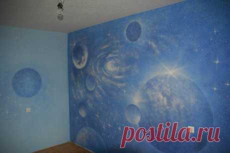 Жидкие обои рисунки: фото, на стене, картинки, трафареты, характеристика, в интерьере, как сделать, наносить своими руками, декорируем, видео