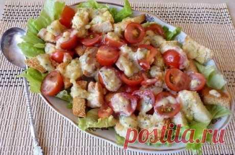 Как приготовить салат цезарь с курицей. - рецепт, ингредиенты и фотографии