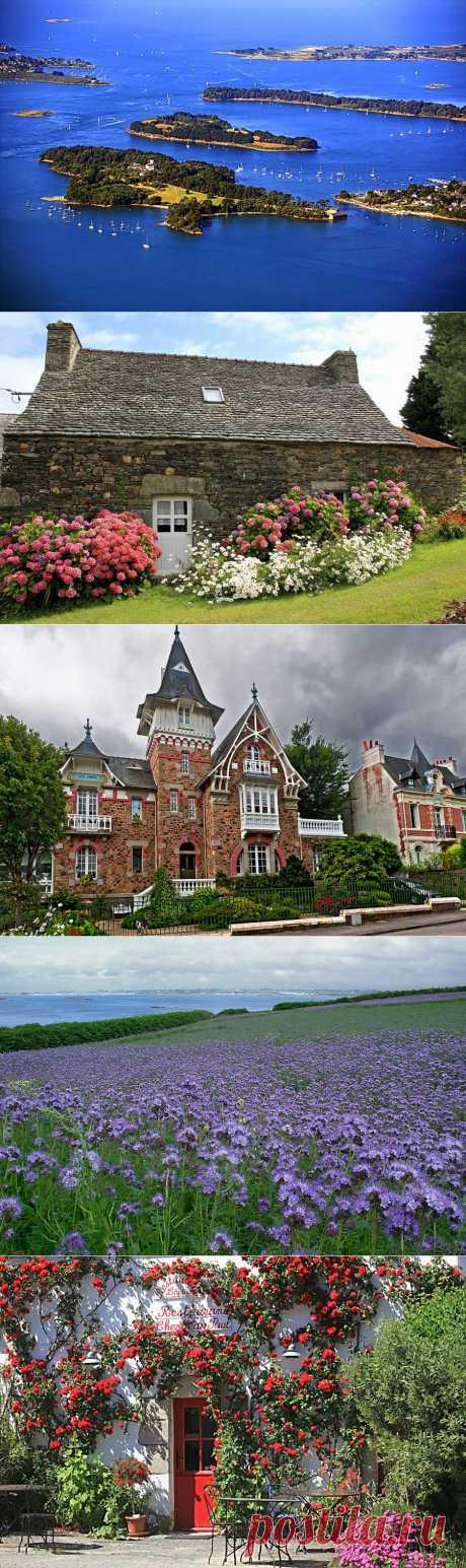 Фотопутешествие: старинные деревни залива Морбиан. Франция  Залив Морбиан еще называют внутренним морем. Этот живописный уголок Бретани с бесчисленными маленькими островами и особым мягким микроклиматом привлекает множество отдыхающих и любителей парусного спорта. Самые популярные курорты – Арзон, Карнак, Трините-сюр-Мер, Лармор-Пляж, Сарзо и Сан-Жильда-дё-Рюи.