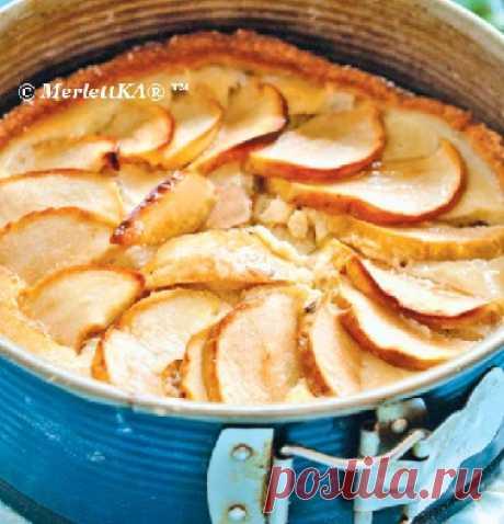 Блюда из яблок - Французский яблочный пирог