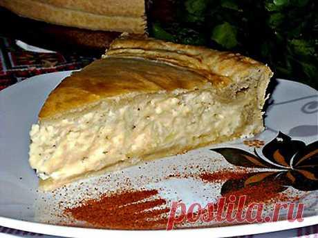 Вкуснейший закусочный пирог с начинкой из плавленных сырков - ДЛЯ ЛЕНИВОЙ ХОЗЯЙКИ, БЫСТРО, ПРОСТО, ОЧЕНЬ ВКУСНО!!!.