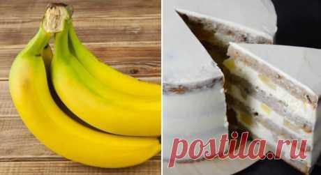Банановый бисквит: как приготовить быстро и легко
