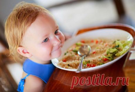 Детское питание - 15 рецептов вкусных блюд для детей от 8 месяцев до 2 лет