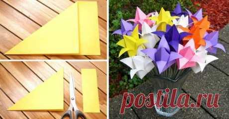 Потрясающий тюльпан из бумаги своими руками — I Love Hobby — Лучшие мастер-классы со всего мира!