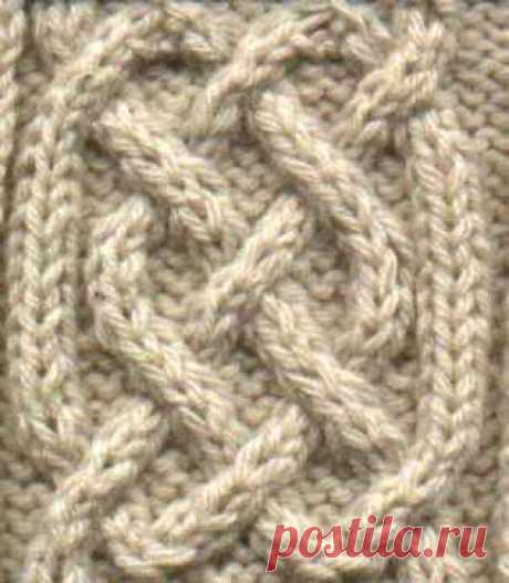 Simple celtic cable » the girl from auntie patterns