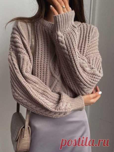 Пуловер с жемчужными ромбами, схемЫ