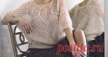 вязания свитера из мохера схема и описание - Поиск в Google