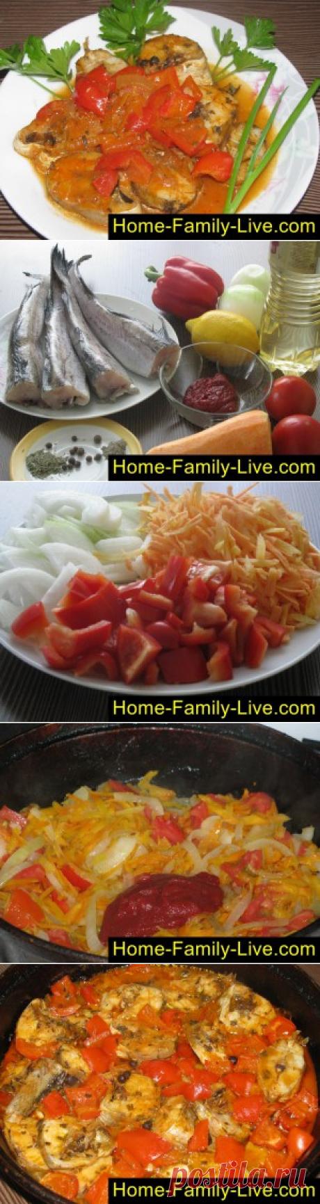 Тушеный минтай с розмарином/Сайт с пошаговыми рецептами с фото для тех кто любит готовить
