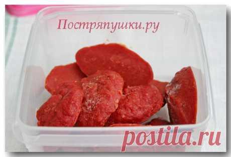 Как хранить томатную пасту | Постряпушки.ру