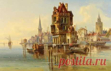Островок — сбор пазла — Пазлы онлайн