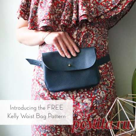 Introducing the FREE Kelly Waist Bag Pattern | Love You Sew
