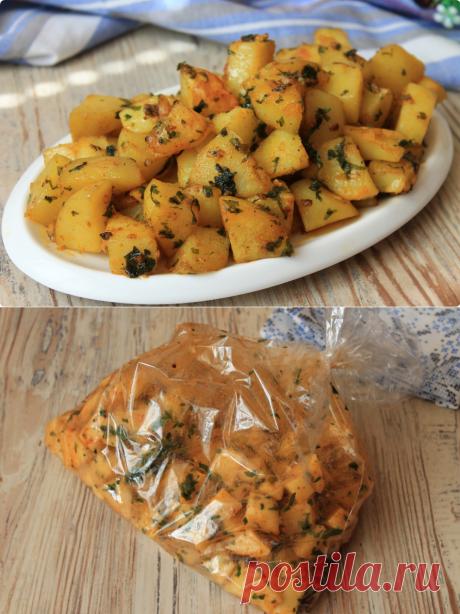 Когда жарко и совсем не хочется включать плиту — готовлю картофель так: вкусно, быстро и без всяких заморочек