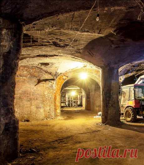 Подземные тайны Москвы — система исторических погребов под ул. Солянка