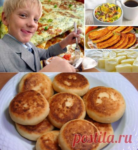 5 ленивых завтраков для школьников от многодетной мамы...