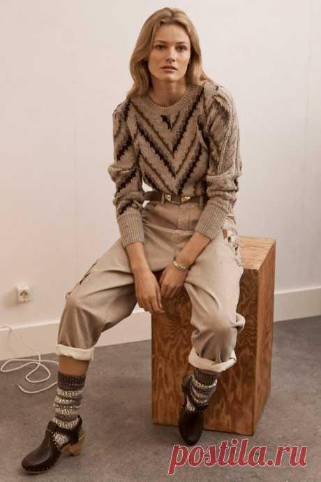 Элегантный бежевый цвет - модное решение для осеннего гардероба | 1000 идей для вязания спицами | Яндекс Дзен