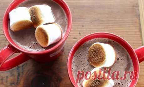 Простой рецепт горячего шоколада | Рецепты (Огород.ru)