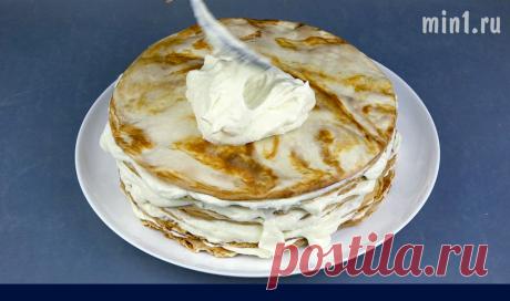 Творожный крем: подходит для любого торта или пирожных (мой любимый и очень простой рецепт)   Кухня наизнанку   Яндекс Дзен