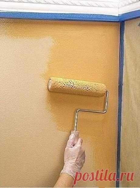 Интересные идеи при покраске стен - полезные советы