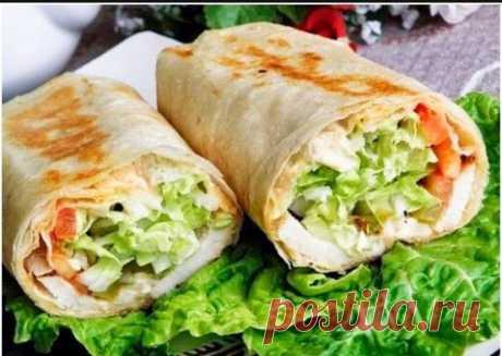 The most tasty shawarma