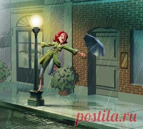 Жизнь не для того, чтобы ждать, когда стихнет ливень. Она для того, чтобы научиться танцевать под дождем.