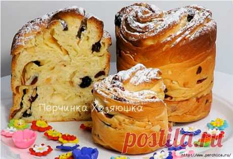 ПОТРЯСАЮЩИЙ Кулич Краффин (Easter Cake Cruffin)