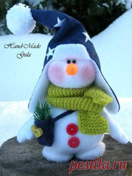 Миленькие снеговики. Идеи.