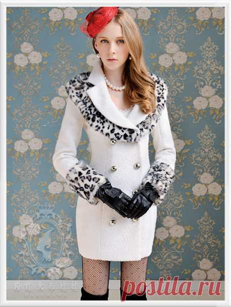 coated tubing Picture - More Detailed Picture about DABUWAWA Original New fashion 2013 Winter Thick Wool White Slim Gray Leopard Print Fur Collar Long Trench Coat Jacket Women Sale Picture in Wool & Blends from PINK DOLL Trade Co.,Ltd | Aliexpress.com | Alibaba Group