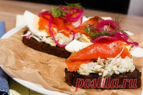 Брускетта с красной рыбой и капустой - пошаговый рецепт с фото - как приготовить, ингредиенты, состав, время приготовления - Леди Mail.Ru