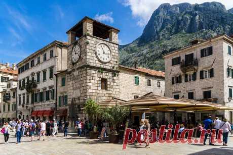 Котор: Старый город. Черногория.