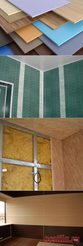Какими способами можно прикрепить пластиковую панель к стене?