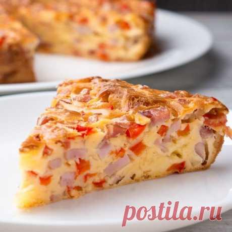 Простой и вкусный пирог «Выручайка»