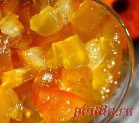 "Варенье ""Янтарное"" из кабачков и апельсинов | Рецепты тёти АСИ | Яндекс Дзен"