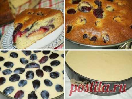 Рецепт творожного пирога со сливами Творожный пирог со сливами — ещё одна возможность порадовать близких прекрасной выпечкой. Готовится быстро, просто, из доступных продуктов, а результат неизменно прекрасен. А ещё, благодаря сливам и творогу,...