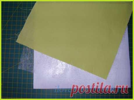 Аппликации из ткани