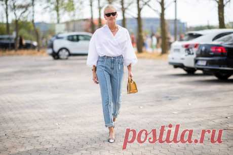 Весеннее вдохновение: стильные образы, которые можно носить с любимыми джинсами . Милая Я
