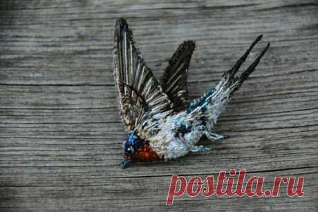 Птички TeplOlino (подборка) / Вышивка / ВТОРАЯ УЛИЦА