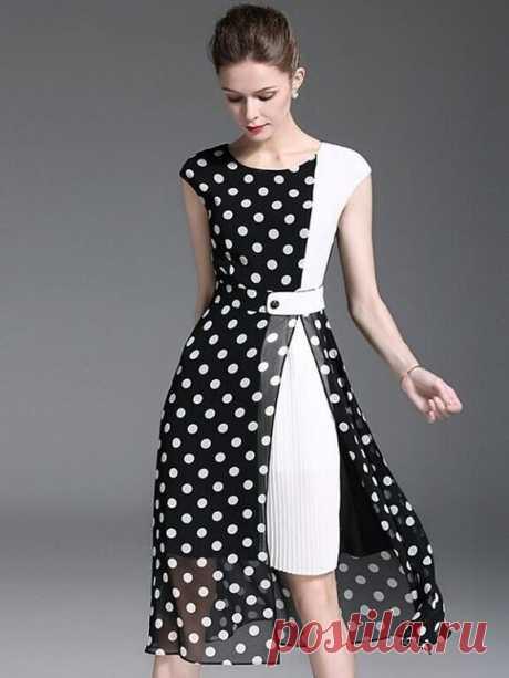 Платье с изюминкой. Оригинальные идеи для тех, кто шьет.