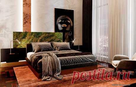 Дизайн спальни фотогалерея, интерьер спальни современной - идеи интерьера на сайте expostroy.ru